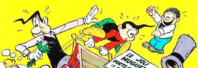 Pipo et Concombre, le duo humoristique de Giorgio Rebuffi