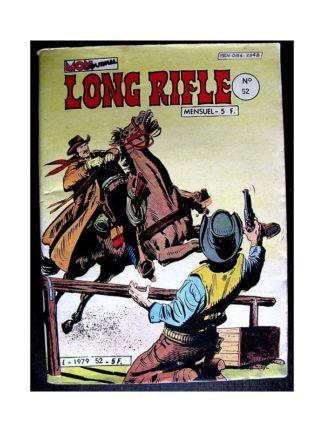 LONG RIFLE N°52 - LA PISTE AUX TRAQUENARDS