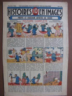 PIKEPIC ET COLEGRAM ARTISTES DE CIRQUE (ouistiti, perruche) WW.