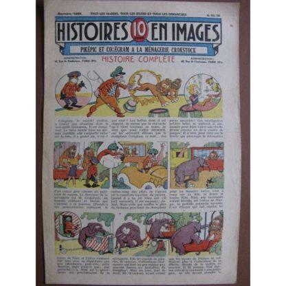 PIKEPIC ET COLEGRAM A LA MENAGERIE CROKSTOCK (ouistiti, éléphant, girafe) WW.
