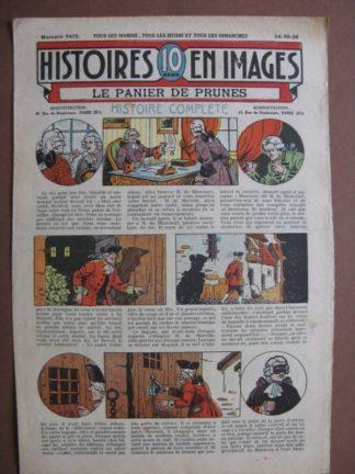 LE PANIER DE PRUNES (auberge, espion, narcotique) WW.