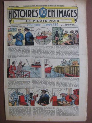 LE PILOTE NOIR (yacht, éléphants) WW.