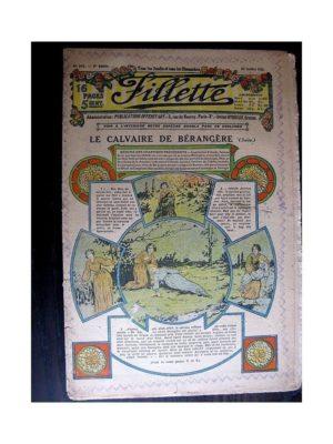 FILLETTE (SPE) 1913 N°242 LE CALVAIRE DE BERANGERE (Robe Yolande)