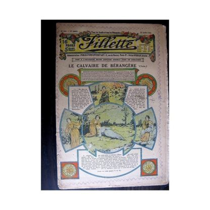 FILLETTE 1913 N°242 LE CALVAIRE DE BERANGERE (Robe Yolande)