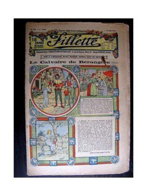 FILLETTE (SPE) 1913 N°244 LE CALVAIRE DE BERANGERE (Robe Yolande – 2)