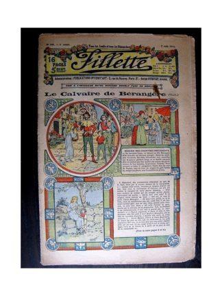 FILLETTE 1913 N°244 LE CALVAIRE DE BERANGERE (Robe Yolande - 2)