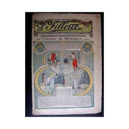 FILLETTE 1913 N°250 LE CALVAIRE DE BERANGERE (Robe Francia - 1)