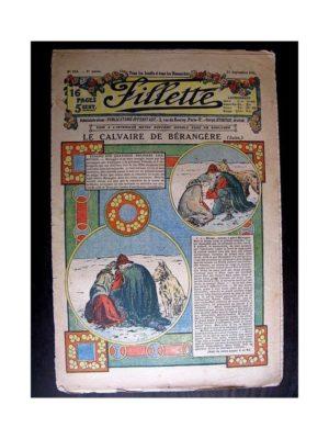FILLETTE (SPE) 1913 N°254 LE CALVAIRE DE BERANGERE (Robe Mariette)