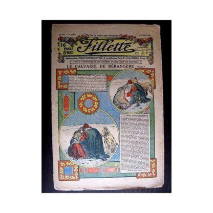 FILLETTE 1913 N°254 LE CALVAIRE DE BERANGERE (Robe Mariette)