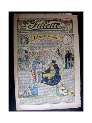 FILLETTE (SPE) 1913 N°264 LE CHATEAU TERRIBLE (Poupée Fillette – Robe de visite)