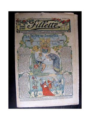 FILLETTE (SPE) 1913 N°268 LE TRESOR DE SAMBREZE (Poupée Fillette – Combinaison)