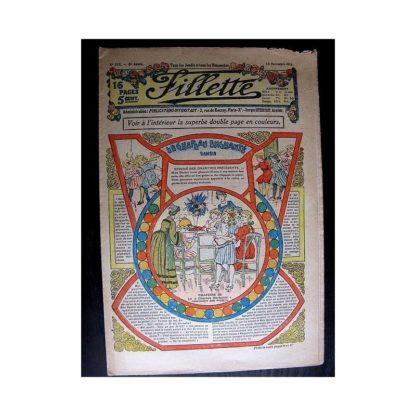 FILLETTE 1913 N°272 LE CHAPEAU ENCHANTE (Poupée Fillette - Robe de dessous)