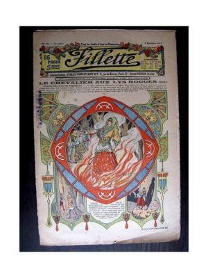 FILLETTE (SPE) 1913 N°278 LE CHEVALIER AU LYS ROUGE (Poupée Fillette – Chemise de nuit brodée)