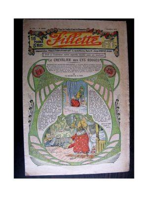 FILLETTE (SPE) 1913 N°279 LE CHEVALIER AU LYS ROUGE (Mode Fillette – Modèles de tailleurs)