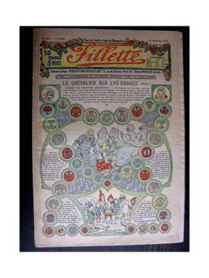FILLETTE (SPE) 1913 N°285 LE CHEVALIER AU LYS ROUGE (Mode Fillette – Modèles tailleurs et manteaux)
