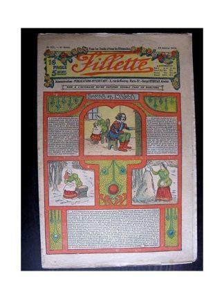 FILLETTE 1914 N°289 BOULE DE NEIGE (Mode Fillette - Modèles de robes et manteaux)