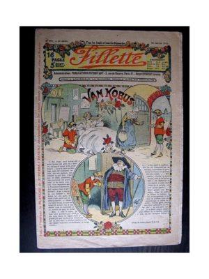 FILLETTE (SPE) 1914 N°291 VAN KOBUS (Mode Fillette – Modèles de robes et manteaux)