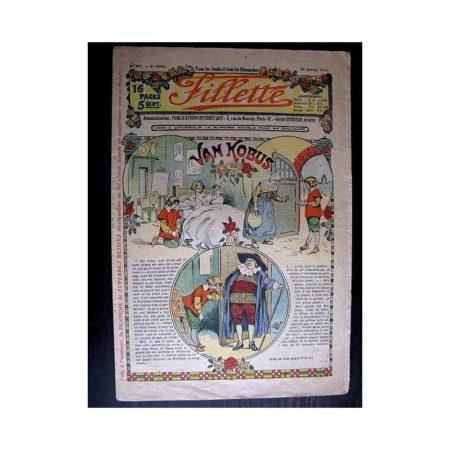 FILLETTE 1914 N°291 VAN KOBUS (Mode Fillette - Modèles de robes et manteaux)
