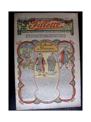 FILLETTE (SPE) 1914 N°293 LA SONNETTE DE PROCOPE (Mode Fillette – Modèles de robes et déguisements)