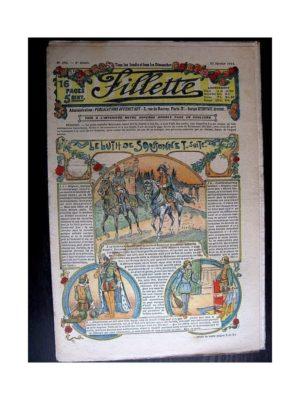 FILLETTE (SPE) 1914 N°298 LE LUTH DE SANSONNET (Poupée Friquette – Costume d'Incroyable – 2)