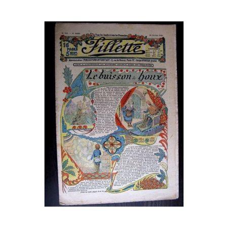 FILLETTE 1914 N°302 LE BUISSON DE HOUX (Poupée Fillette - pantalon de communiante)