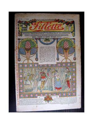 FILLETTE (SPE) 1914 N°309 ROBIN L'ARCHER AU BONNET MAGIQUE (Mode – Modèles de tailleurs)