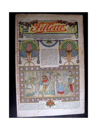 FILLETTE 1914 N°309 ROBIN L'ARCHER AU BONNET MAGIQUE (Mode - Modèles de tailleurs)