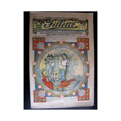 FILLETTE 1914 N°314 ROBIN L'ARCHER AU BONNET MAGIQUE (Poupée Fillette - Manteau)