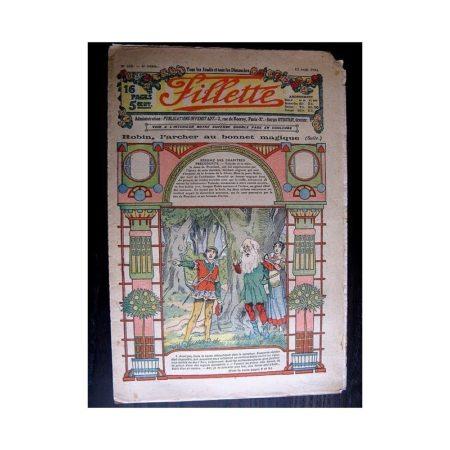 FILLETTE 1914 N°315 ROBIN L'ARCHER AU BONNET MAGIQUE (Mode - modèles de robes)
