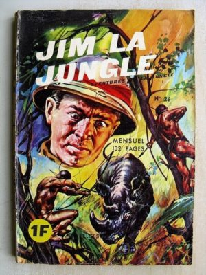 JIM LA JUNGLE (Edi Europ) N° 26 LE BUFFLE FOU