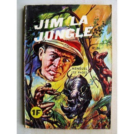 JIM LA JUNGLE N°26 LE BUFFLE FOU