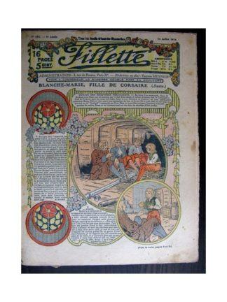 FILLETTE 1914 N°344 BLANCHE-MARIE FILLE DE CORSAIRE (Poupée Fillette - Costume de garçonnet)