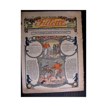 FILLETTE 1915 N°357 YVETTE LA FILLE DES ROSEAUX (Mode de Fillette - Modèle de robes 1915)