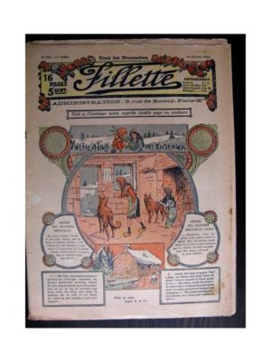 FILLETTE (SPE) 1915 N°362 YVETTE LA FILLE DES ROSEAUX (Poupée Fillette – Chapeau Alberte)