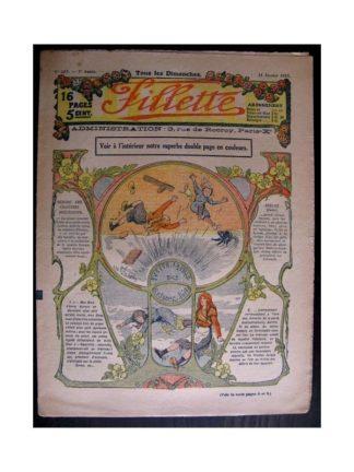 FILLETTE 1915 N°363 YVETTE LA FILLE DES ROSEAUX (Mode de Fillette - Modèles de robes 1915)