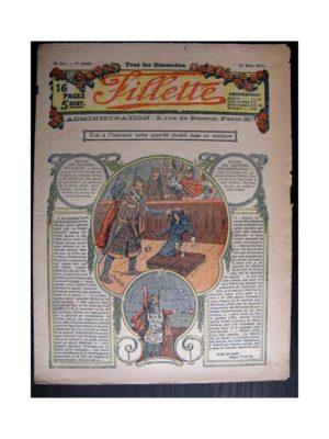 FILLETTE (SPE) 1915 N°367 YVETTE LA FILLE DES ROSEAUX (Mode Fillette – Costumes des Nations alliées)