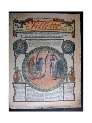 FILLETTE (SPE) 1915 N°371 YVETTE LA FILLE DES ROSEAUX (poupée Fillette – Manteau Bobb)