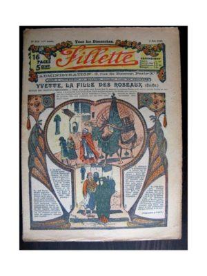 FILLETTE (SPE) 1915 N°373 YVETTE LA FILLE DES ROSEAUX (poupée Fillette – Costume d'Alsacienne)