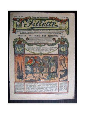 FILLETTE (SPE) 1915 N°374 YVETTE LA FILLE DES ROSEAUX (Mode de Fillette – Modèles de robes 1915)