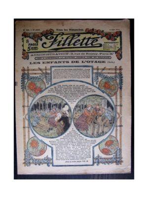 FILLETTE (SPE) 1916 N°430 LES ENFANTS DE L'OTAGE