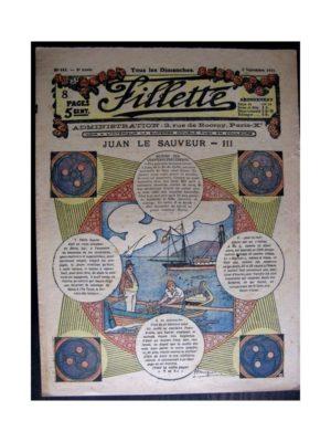FILLETTE (SPE) 1916 N°443 JUAN LE SAUVEUR – III