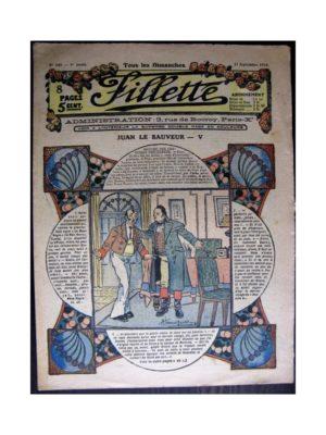FILLETTE 1916 N°445 JUAN LE SAUVEUR - V