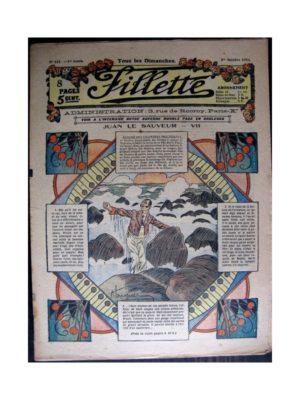FILLETTE (SPE) 1916 N°447 JUAN LE SAUVEUR – VII