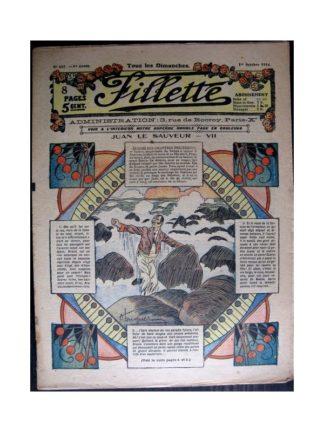 FILLETTE 1916 N°447 JUAN LE SAUVEUR - VII