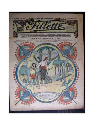 FILLETTE (SPE) 1916 N°452 JUAN LE SAUVEUR – XII