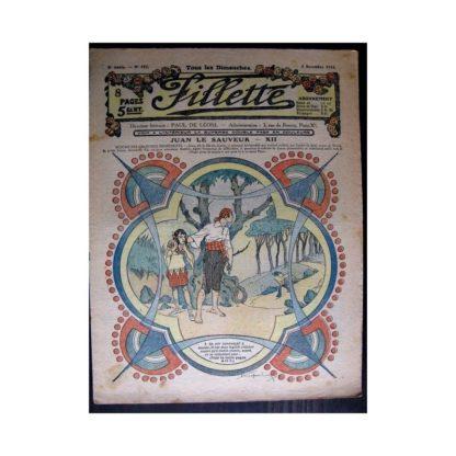 FILLETTE 1916 N°452 JUAN LE SAUVEUR - XII