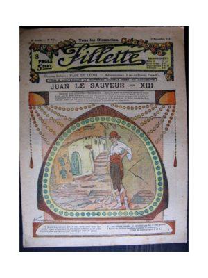 FILLETTE 1916 N°453 JUAN LE SAUVEUR - XIII