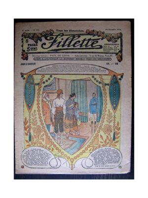 FILLETTE 1916 N°454 JUAN LE SAUVEUR - XIV