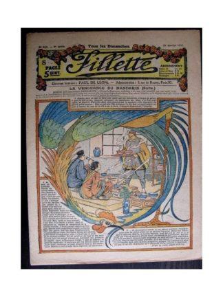 FILLETTE 1916 N°464 LA VENGEANCE DU MANDARIN