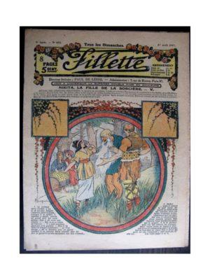 FILLETTE (SPE) 1917 N°473 NIKITA LA FILLE DE LA SORCIERE (5)